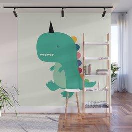 Dinocorn Wall Mural