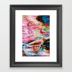 Spheres Framed Art Print