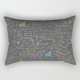 Math Lessons Rectangular Pillow