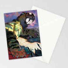 Twilight Tiger Stationery Cards