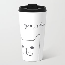 Yes, please Metal Travel Mug