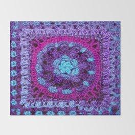 Purple Haze Throw Blanket
