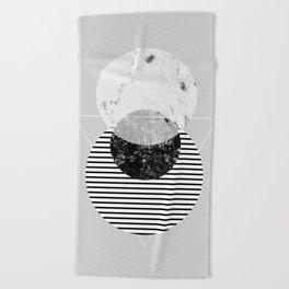 Minimalism 9 Beach Towel