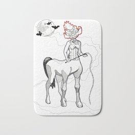 Headless Centaur Bath Mat