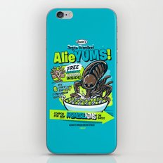 AlieYUMS! (blue variant) iPhone & iPod Skin