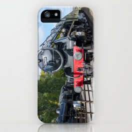 Steam locos at Rothley iPhone Case