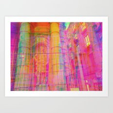 Multiplicitous extrapolatable characterization. 16 Art Print