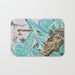 Political Tensions Bath Mat