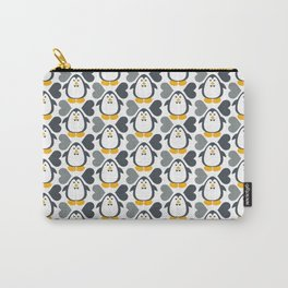 NGWINI - penguin love pattern 4 Carry-All Pouch