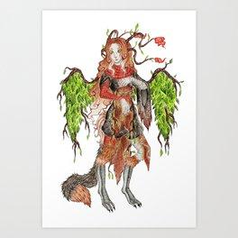 Nephilie Art Print