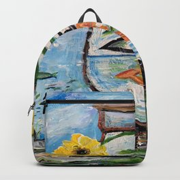 The Vase at the Bottom of the Sea Backpack