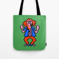 earthbound Tote Bags featuring Hippie - Mother/Earthbound Zero by Studio Momo╰༼ ಠ益ಠ ༽