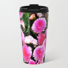 Pink Flower 25 Travel Mug