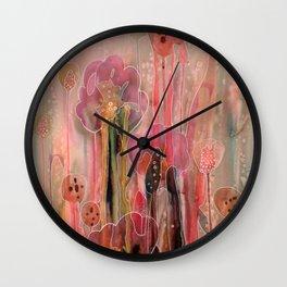 chercher la lumière Wall Clock