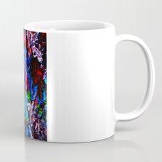 color mix / palette knife abstract Mug