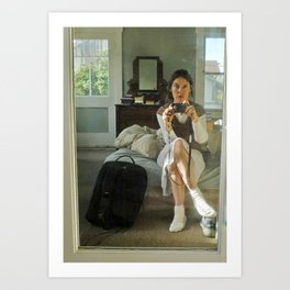 Self Portrait with Camera Art Print