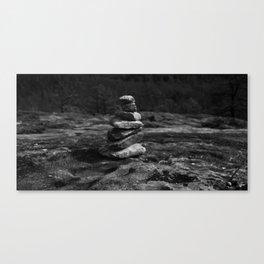 Rock Stack Canvas Print