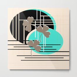 Saint Patrick, abstraction 2 Metal Print