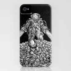 Texas Chainsaw Astronaut: New Moon iPhone (4, 4s) Slim Case