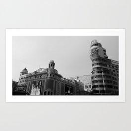 Callao Square Art Print