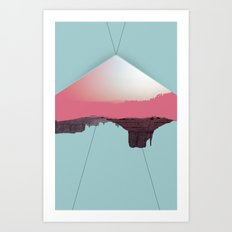 Dweller's Pinnacle Art Print