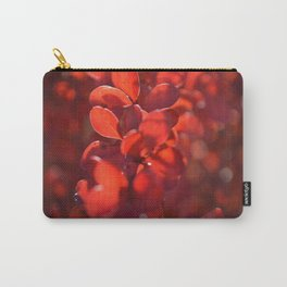 Vermilion Carry-All Pouch