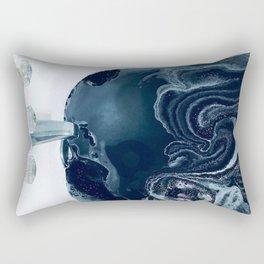Black Bath Rectangular Pillow