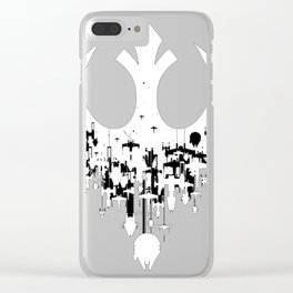 Empire Ship Clear iPhone Case