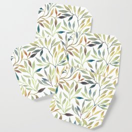 Leaves 5 Coaster