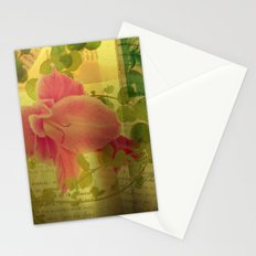 Flower Collage Stationery Cards
