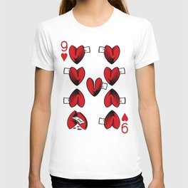Delicious Deck: The Nine of Hearts T-shirt