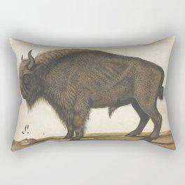 16th Century Bison Painting Rectangular Pillow