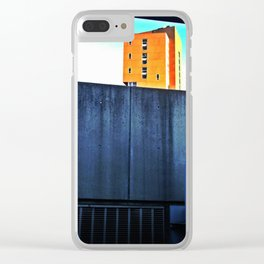 Rising Edifice Clear iPhone Case