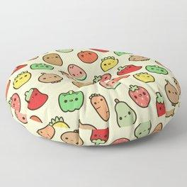 Cute fruit and veg Floor Pillow