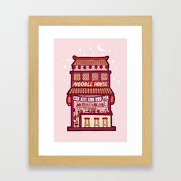 Noodle House Framed Art Print