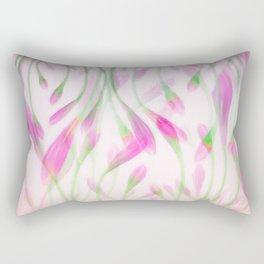 Agapanthus in Pink Rectangular Pillow
