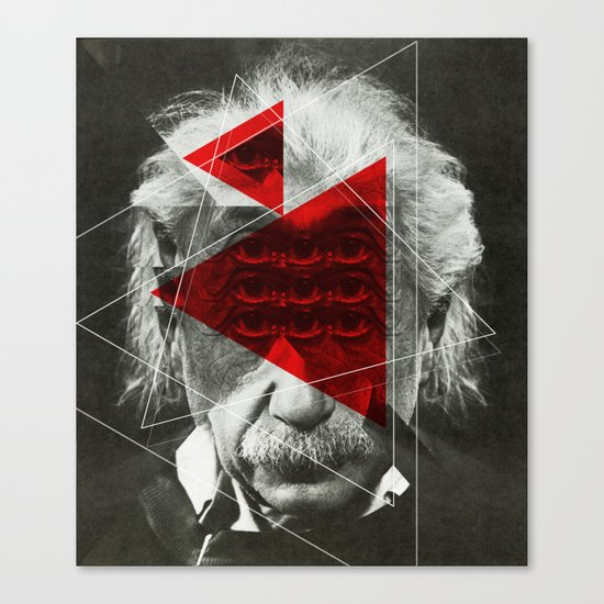 Albert E Mix 1c Canvas Print