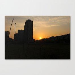 Duqiao Sunset Canvas Print
