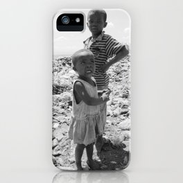 Garbage Slum iPhone Case