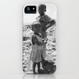 Garbage Slum iPhone Case
