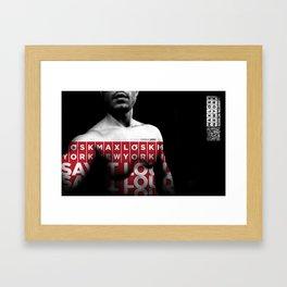 ★ MLNY ★ SPRING 2012 ★ MEN'S ACCESSORIES ★ Framed Art Print