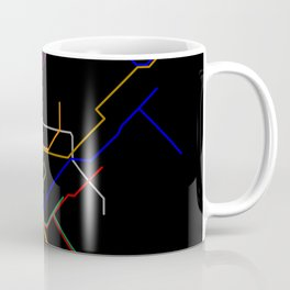 NYC Subway Lines Coffee Mug