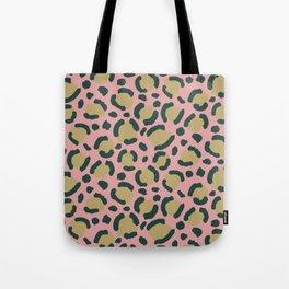 Pink Blush leopard Tote Bag