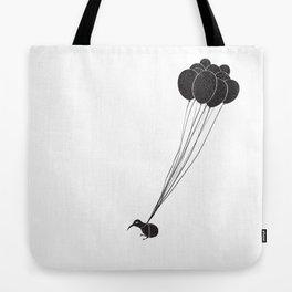 Kiwi can fly Tote Bag