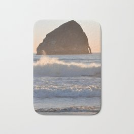 CAPE KIWANDA SUNSET - OREGON Bath Mat