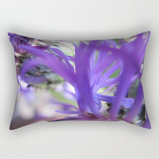 Purple Petals 75 Rectangular Pillow