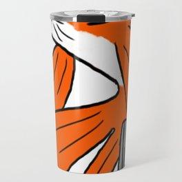 Gangster Goldfish Travel Mug