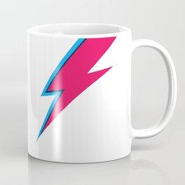 Bowie Lightning Bolt Face Paint Coffee Mug