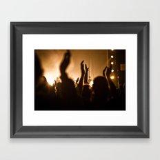 Show your Praise Framed Art Print