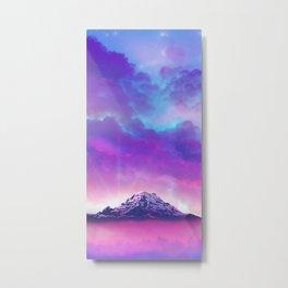 Colorful Peaks  Metal Print